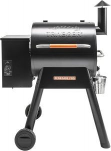 rugged construction pellet grill
