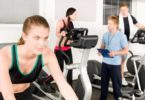 Riding an exercise bike vs working out on an elliptical trainer